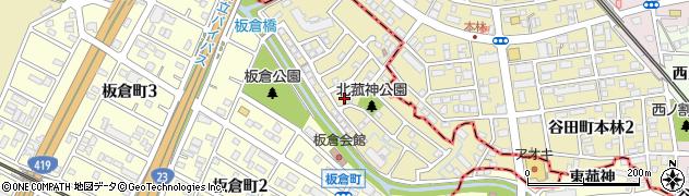 愛知県刈谷市野田町(吹戸)周辺の地図