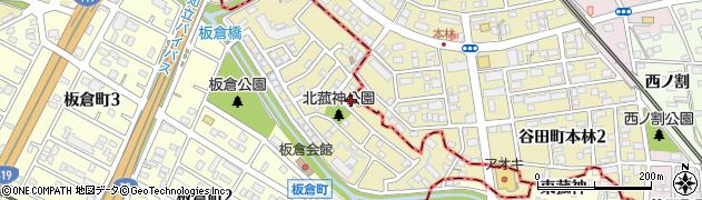 愛知県刈谷市野田町(北菰神)周辺の地図
