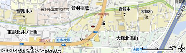 コーポ中村周辺の地図
