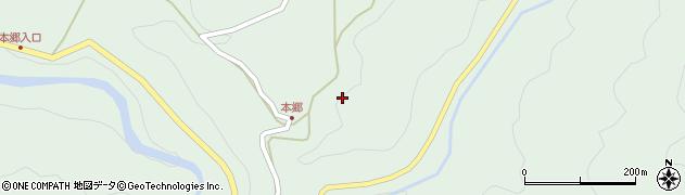 愛知県岡崎市井沢町(杉ノ元)周辺の地図