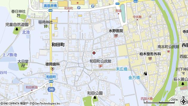 〒677-0052 兵庫県西脇市和田町の地図