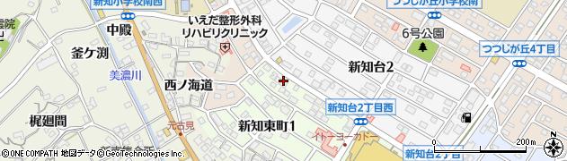 TK総合美容室周辺の地図