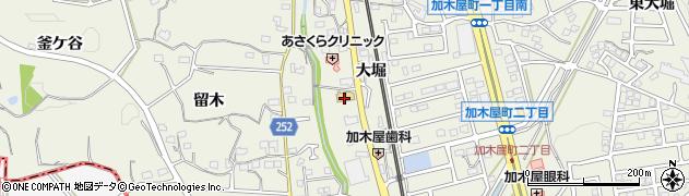サガミ 加木屋店周辺の地図