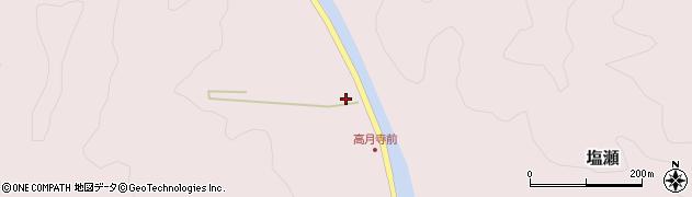 愛知県新城市塩瀬(中貝津)周辺の地図