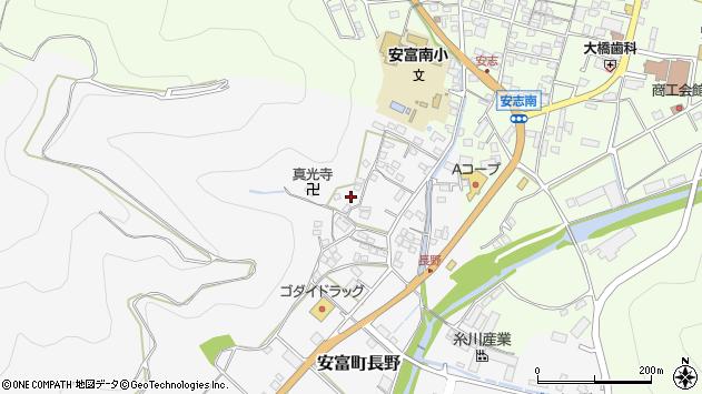 〒671-2421 兵庫県姫路市安富町長野の地図