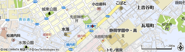 ナマステNIPPON周辺の地図