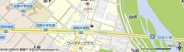 キャクティス周辺の地図
