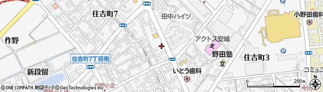 ほっともっと安城住吉町店周辺の地図