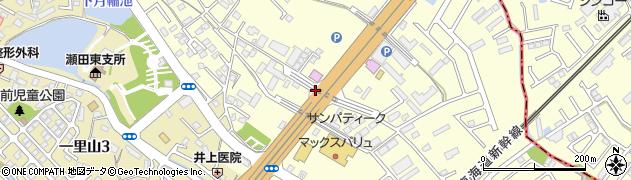 滋賀県大津市月輪周辺の地図