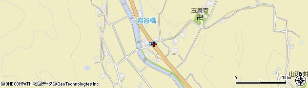行者口周辺の地図
