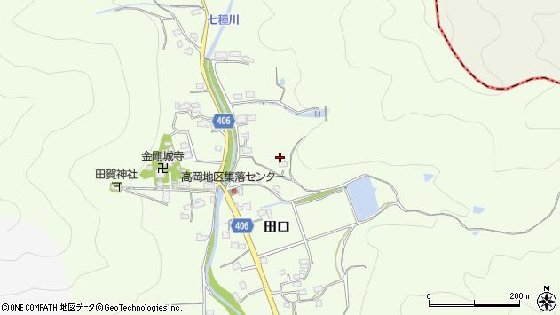 〒679-2218 兵庫県神崎郡福崎町田口の地図