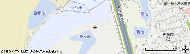 滋賀県大津市膳所雲雀丘町周辺の地図