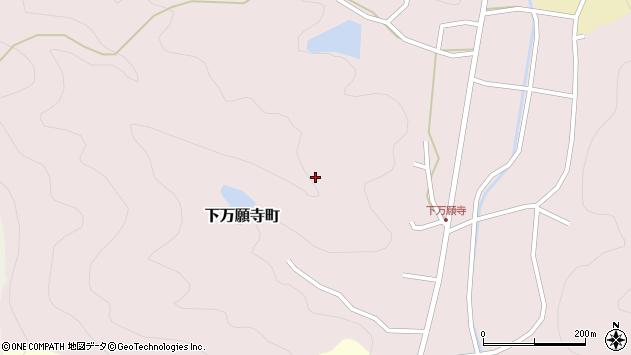 〒675-2452 兵庫県加西市下万願寺町の地図