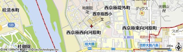 京都府京都市右京区西京極藪ノ下町周辺の地図