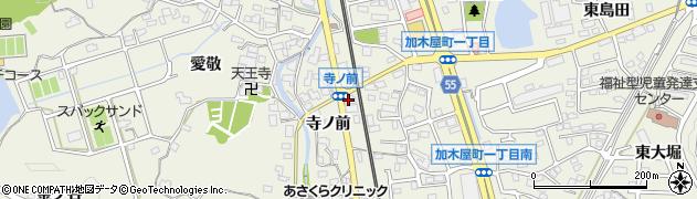 蘭周辺の地図