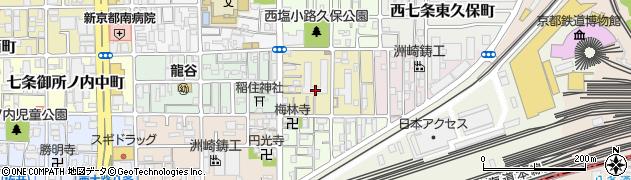 梅小路スカイハイツ周辺の地図