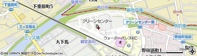愛知県刈谷市半城土町(東田)周辺の地図