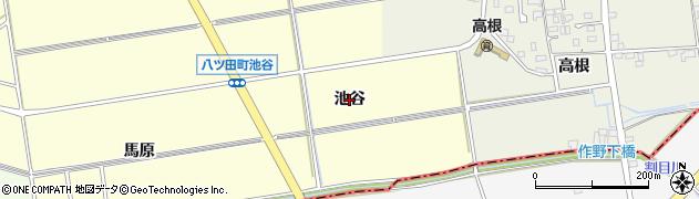 愛知県知立市八ツ田町(池谷)周辺の地図