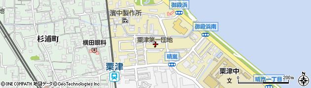 滋賀県大津市御殿浜周辺の地図
