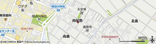 愛知県安城市浜屋町(南屋敷)周辺の地図