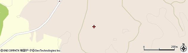 愛知県岡崎市中伊西町(中栗下)周辺の地図