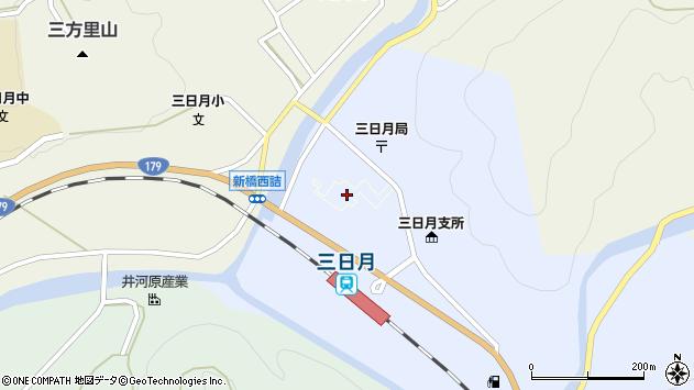 〒679-5133 兵庫県佐用郡佐用町三日月の地図