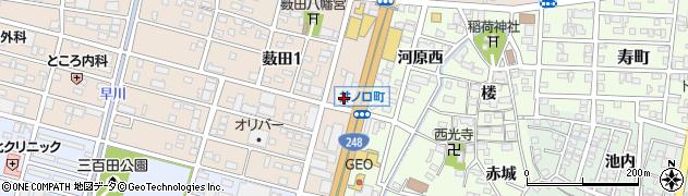 えびす家岡崎店周辺の地図