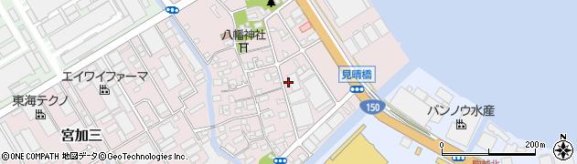 静岡県静岡市清水区宮加三周辺の地図