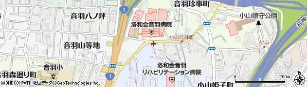 京都市 地域包括支援センター音羽地域包括支援センター周辺の地図