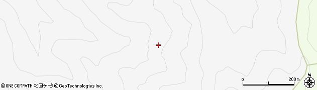 愛知県新城市玖老勢(大白柳)周辺の地図