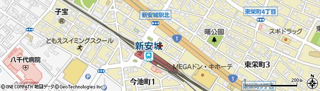 いこい周辺の地図