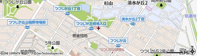 蛍周辺の地図