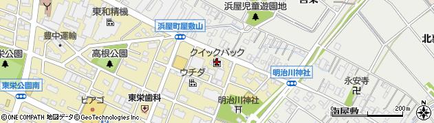 株式会社クイックパック 安城工場周辺の地図