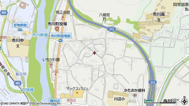 〒679-2315 兵庫県神崎郡市川町西川辺の地図