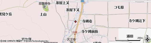 京都府亀岡市曽我部町法貴(寺縄壱)周辺の地図