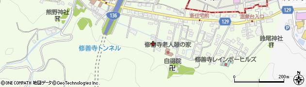 静岡県伊豆市熊坂周辺の地図