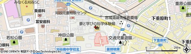 愛知県刈谷市神田町周辺の地図