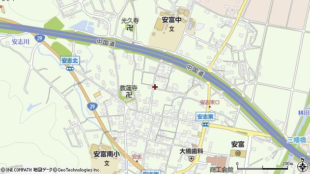 〒671-2401 兵庫県姫路市安富町安志の地図