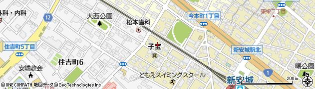 なごみ屋まゆりん周辺の地図