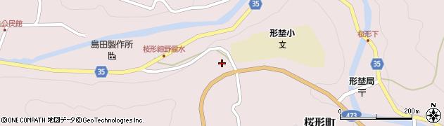 愛知県岡崎市桜形町(細野坂上)周辺の地図