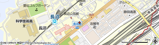 昭和シェルカーケアセルフ長沼SS周辺の地図