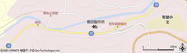 愛知県岡崎市桜形町(細野)周辺の地図