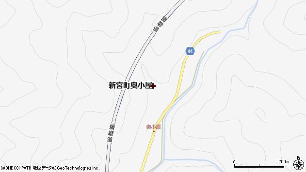 〒679-5151 兵庫県たつの市新宮町奥小屋の地図