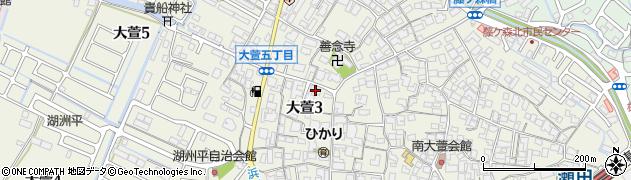 通徳寺周辺の地図