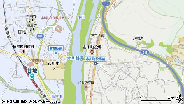 〒679-2300 兵庫県神崎郡市川町(以下に掲載がない場合)の地図