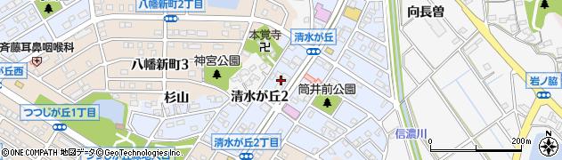 キャッツ周辺の地図