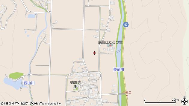 〒671-2102 兵庫県姫路市夢前町新庄の地図