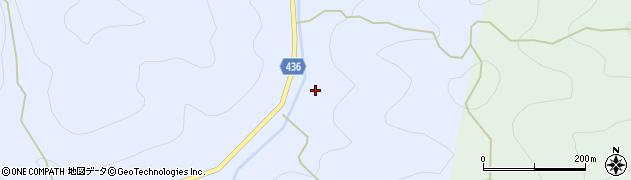 愛知県新城市作手岩波(茶屋)周辺の地図
