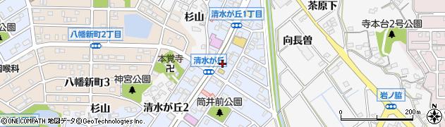 かりゆし周辺の地図