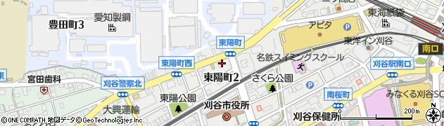 幸寿司本店周辺の地図
